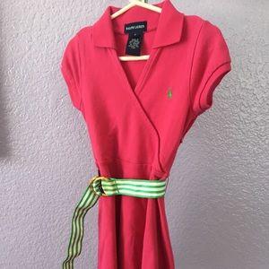Ralph Lauren Faux Wrap Dress with Belt